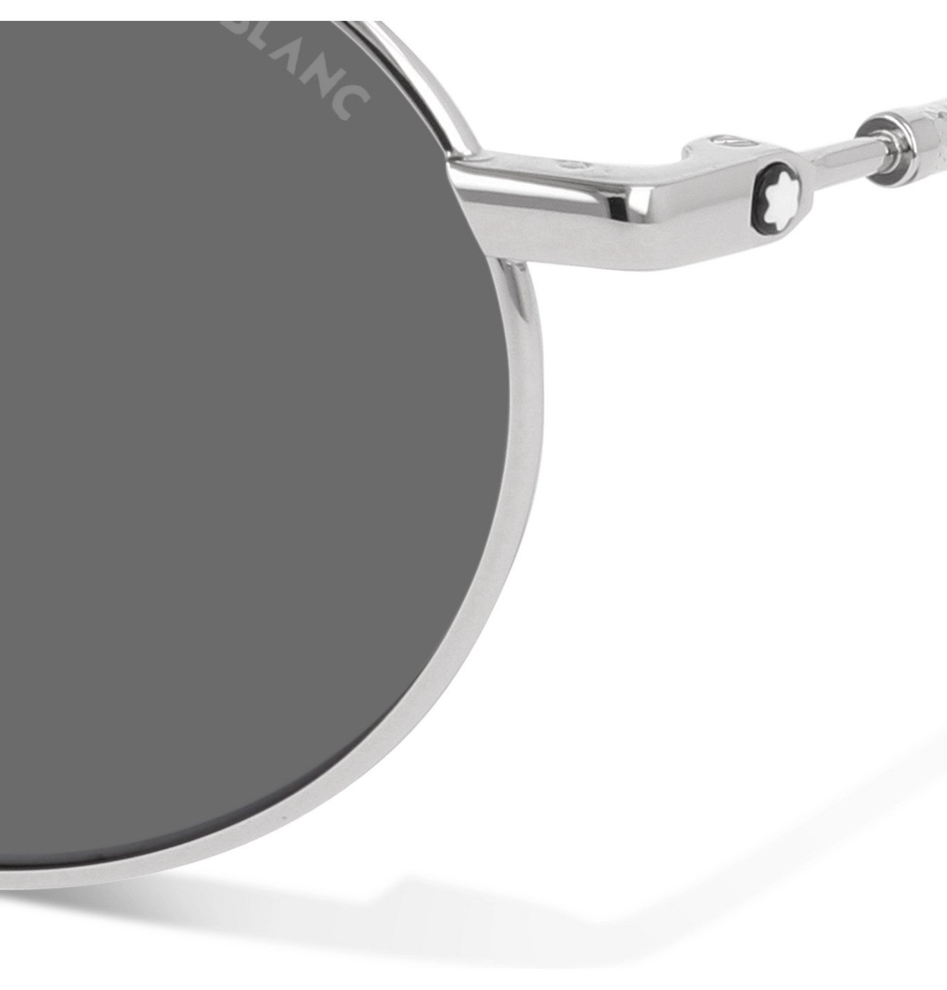Montblanc - Aviator-Style Silver-Tone Sunglasses - Unknown