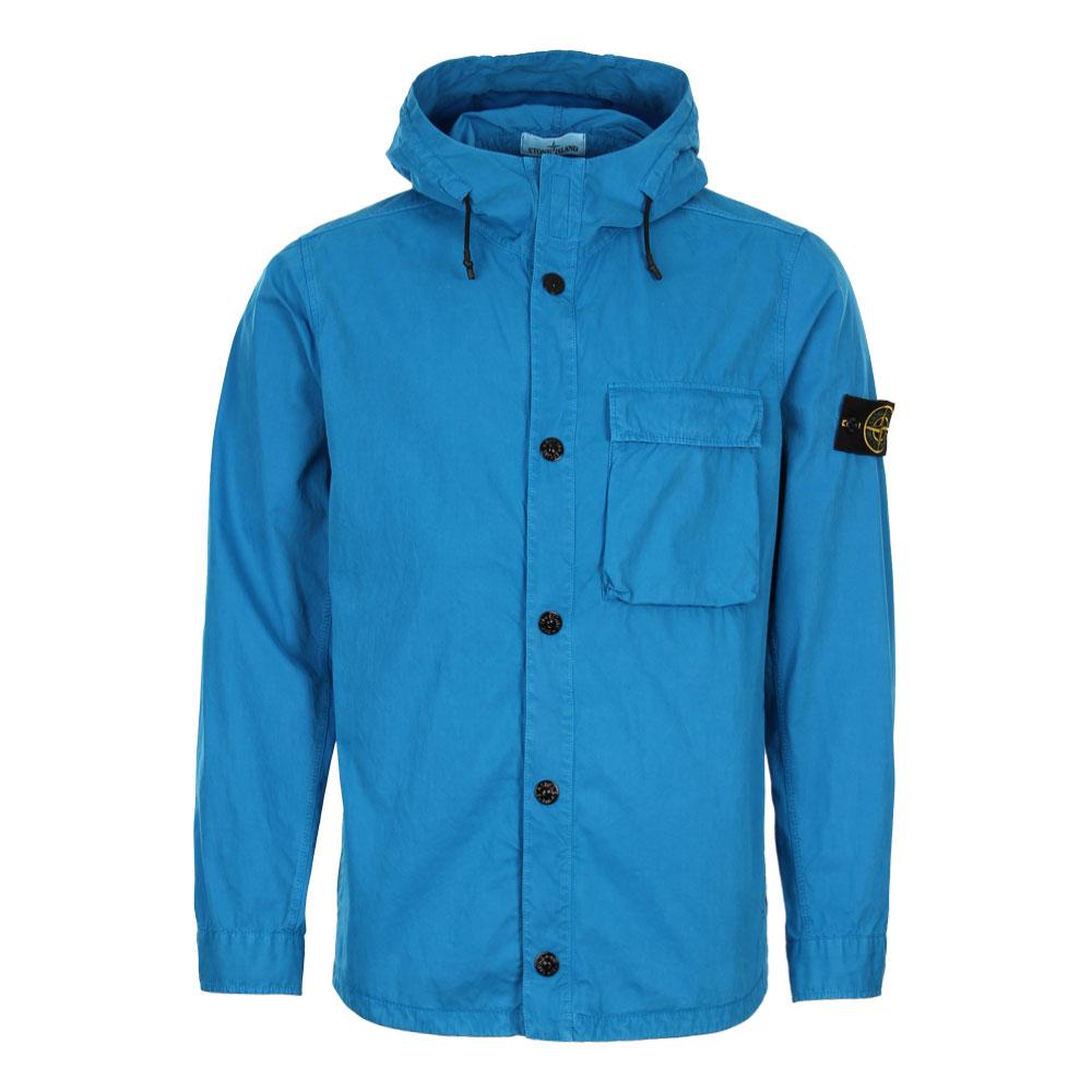 Photo: Hooded Overshirt - Blue