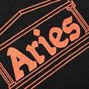 Aries - Logo-Print Cotton-Jersey T-Shirt - Black