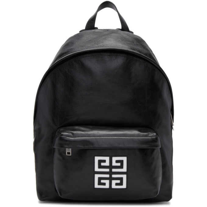Photo: Givenchy Black Leather 4G Backpack