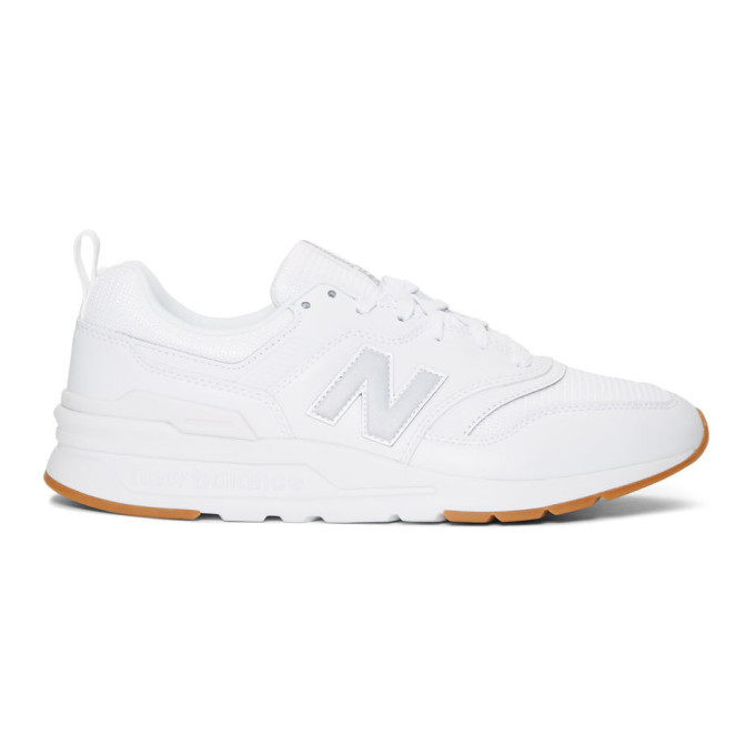 Photo: New Balance White 997H Sneakers