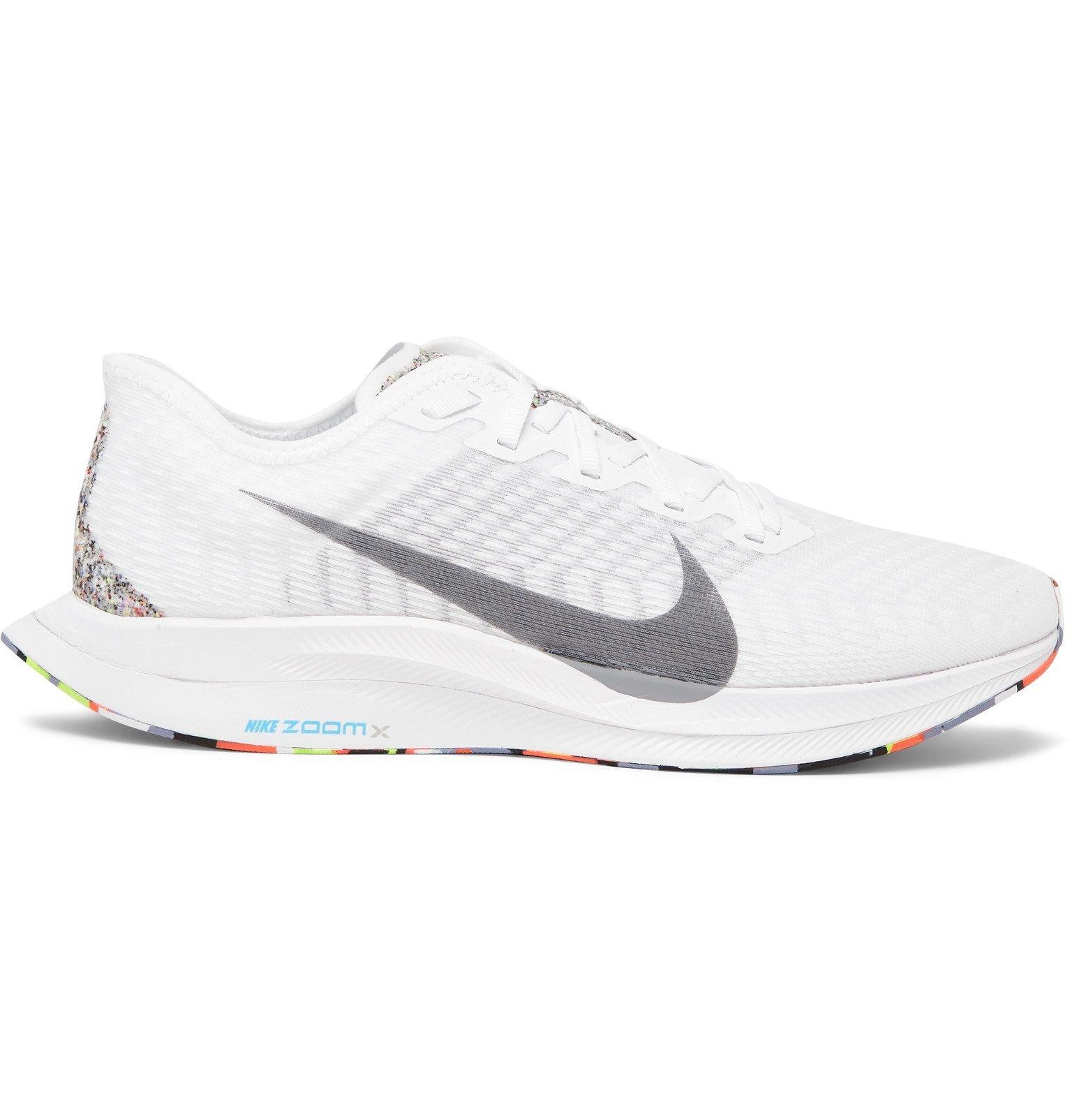 Nike Running - Zoom Pegasus Turbo 2 Mesh Sneakers - White