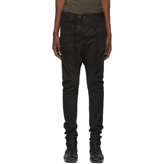 Photo: Boris Bidjan Saberi Black Vinyl Coated Jeans