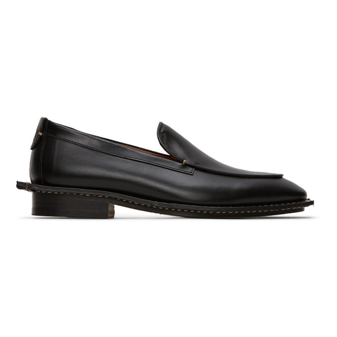 Photo: Lanvin Black Calfskin Loafers