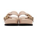 3.1 Phillip Lim Pink Freida Double Buckle Platform Sandals