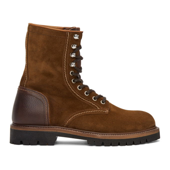 Photo: Belstaff Brown Suede Marshall Boots