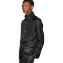 Sacai Black Nylon Blazer
