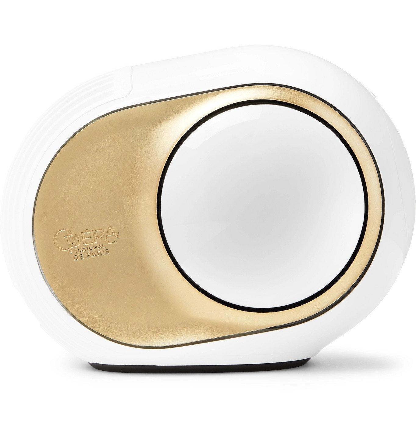 Photo: Devialet - Phantom Reactor Opéra de Paris Limited Edition Wireless Speaker - White