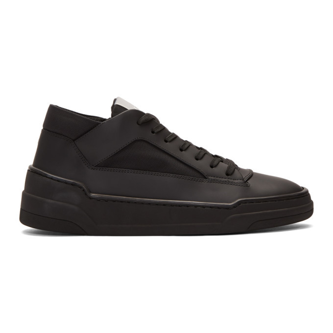 Photo: ETQ Amsterdam Black MT 02 High Top Sneakers