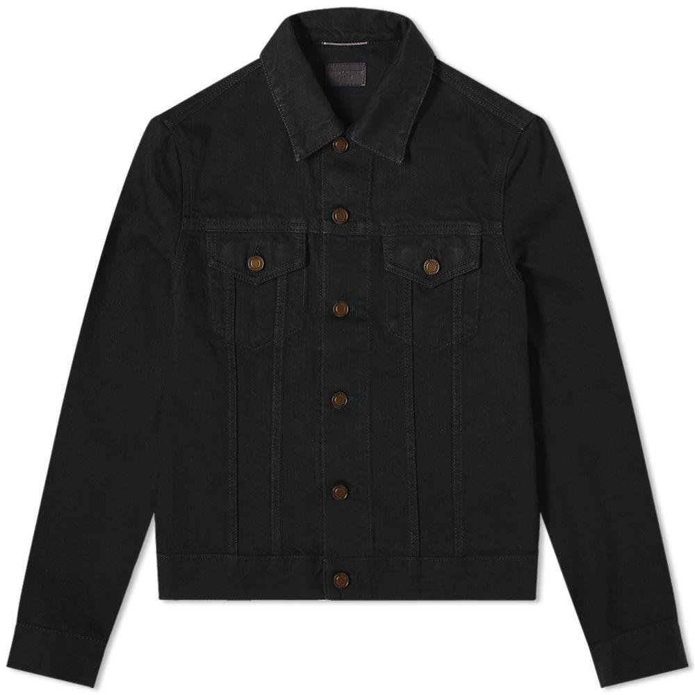 Photo: Saint Laurent Fitted Denim Jacket