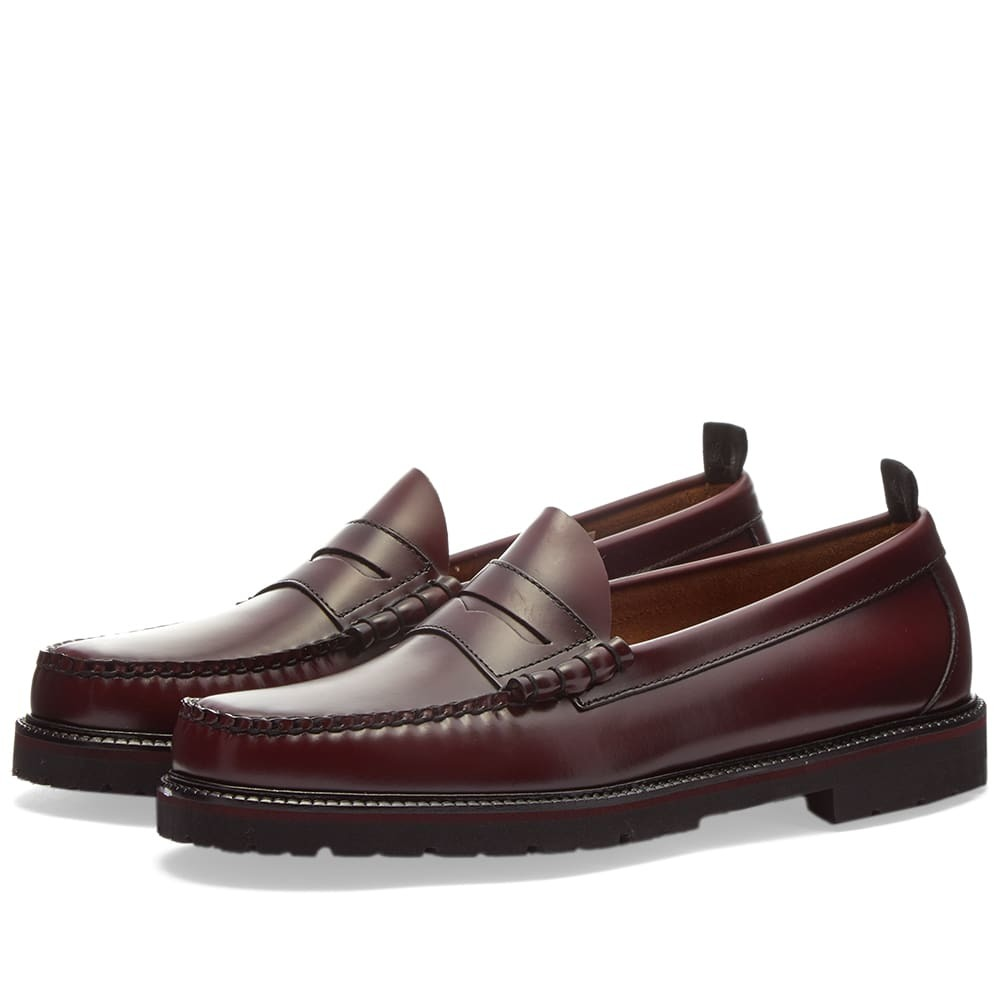 Photo: Fred Perry x G.H Bass Penny Loafer