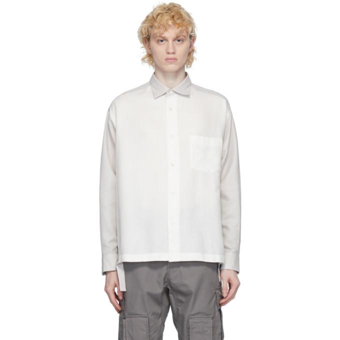 Photo: N.Hoolywood White Side Slit Shirt