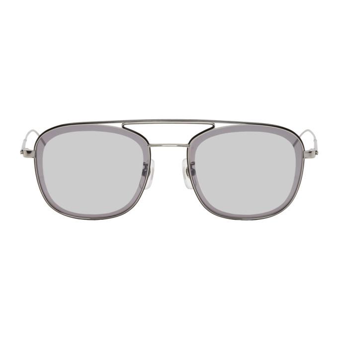 Photo: Yuichi Toyama Black and Gunmetal 017 Mirror Sunglasses