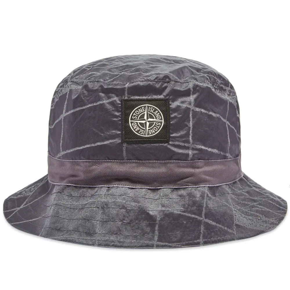 Photo: Stone Island Reflective Grid Bucket Hat