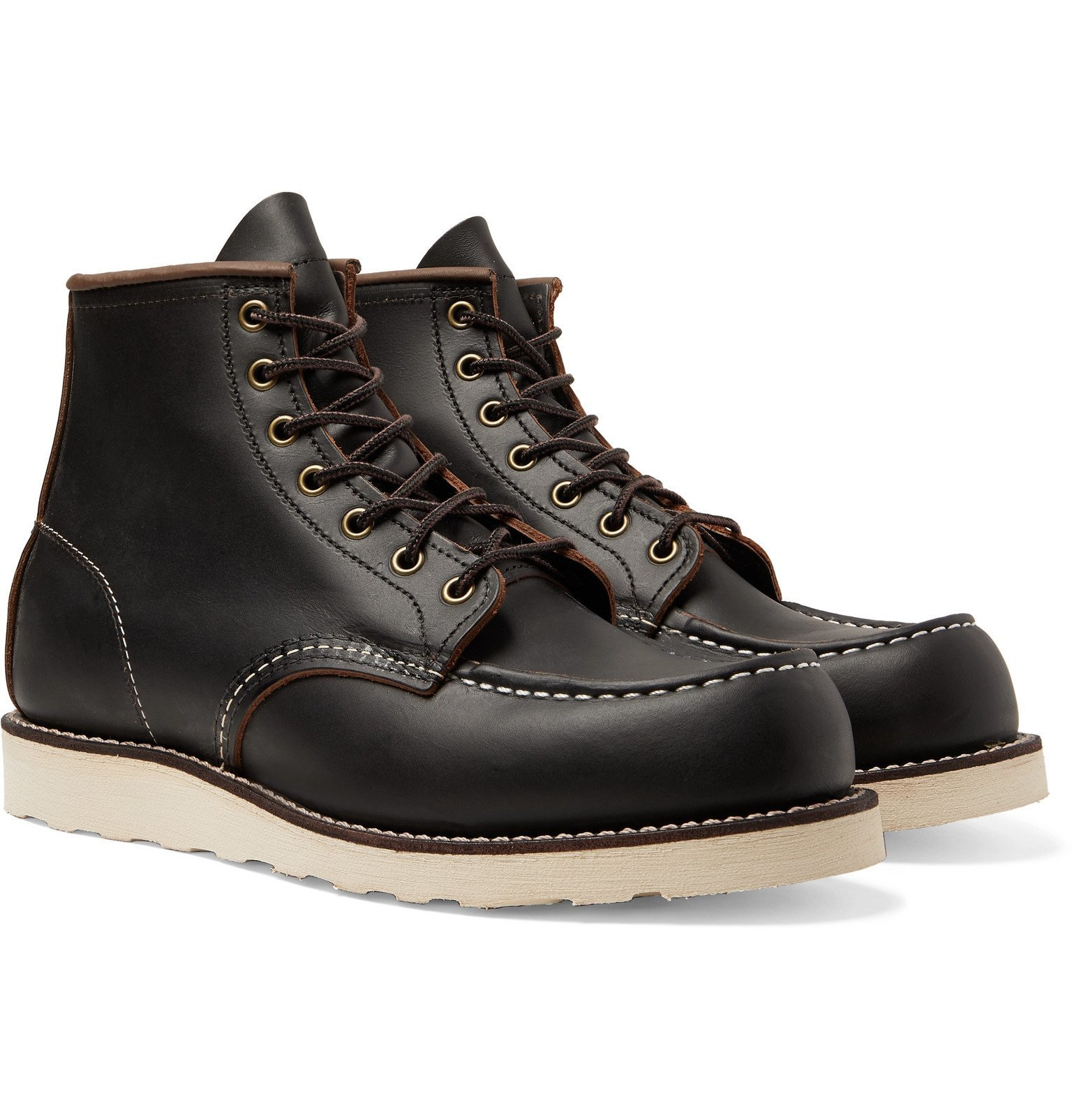Photo: Red Wing Shoes - 8849 6-Inch Moc Leather Boots - Black