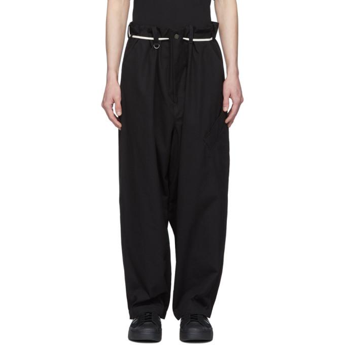 Photo: Y-3 Black Canvas Workwear Cargo Pants