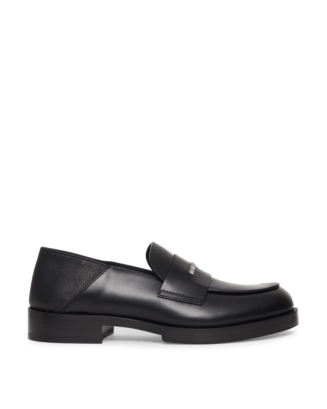 Photo: 1017 Alyx 9sm Slip On Leather Loafers Black
