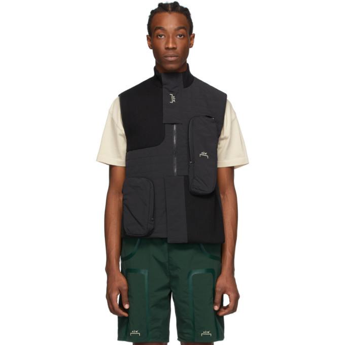 Photo: A-Cold-Wall* Black Padded Pocket Rib Vest