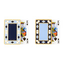 Smythson Blue and Gold Playing Card Twin Pack Set