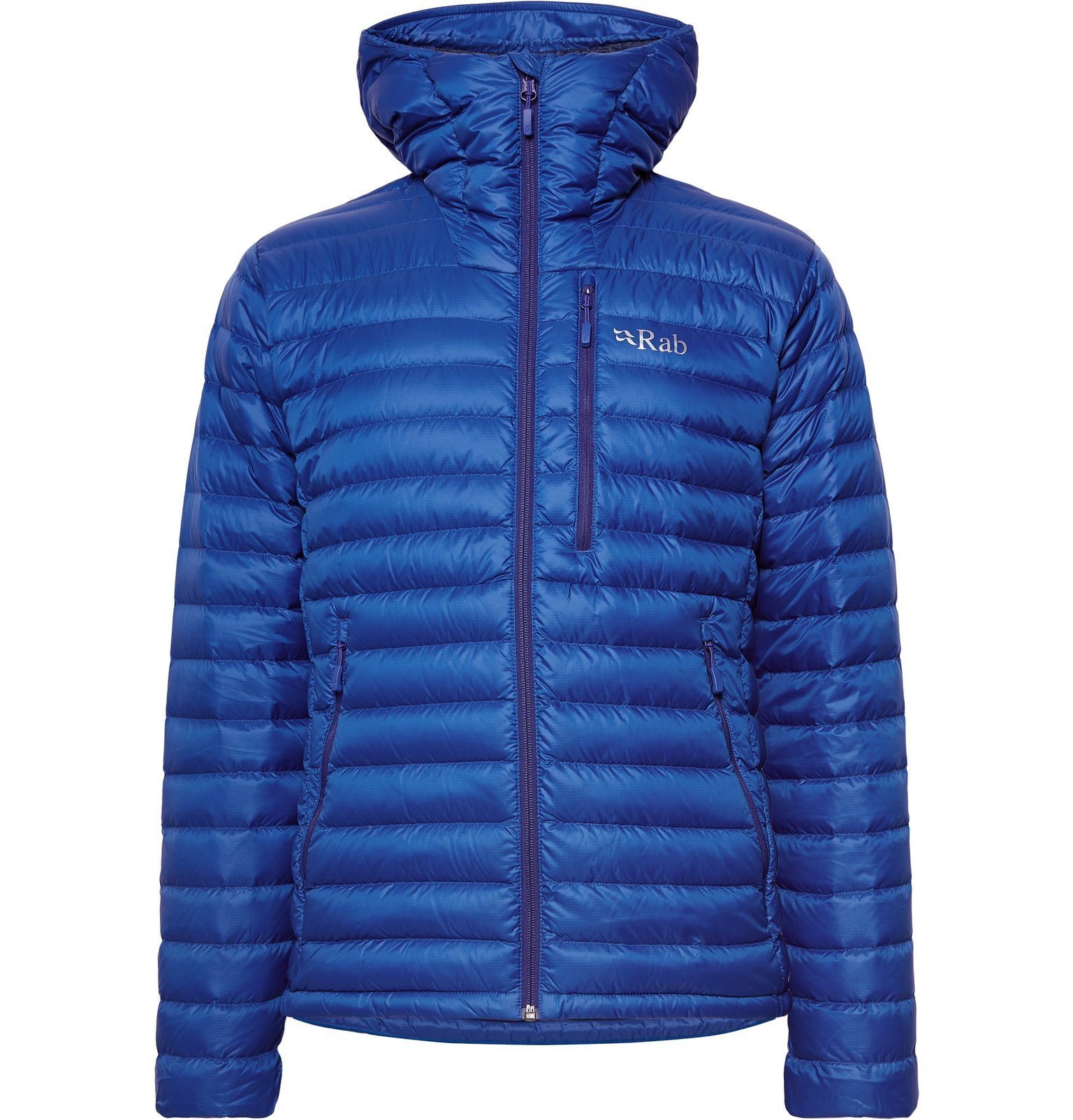 Photo: Rab - Microlight Alpine Quilted Pertex Quantum Down Jacket - Blue