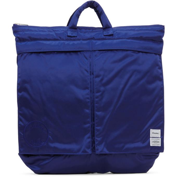 Photo: Etudes Blue Porter Edition Helmet Bag