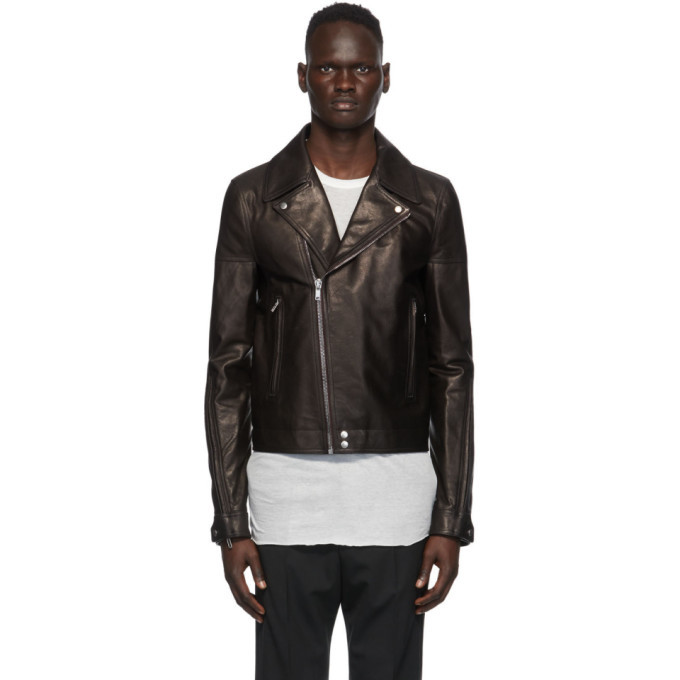 Photo: Rick Owens Black Dracubiker Jacket