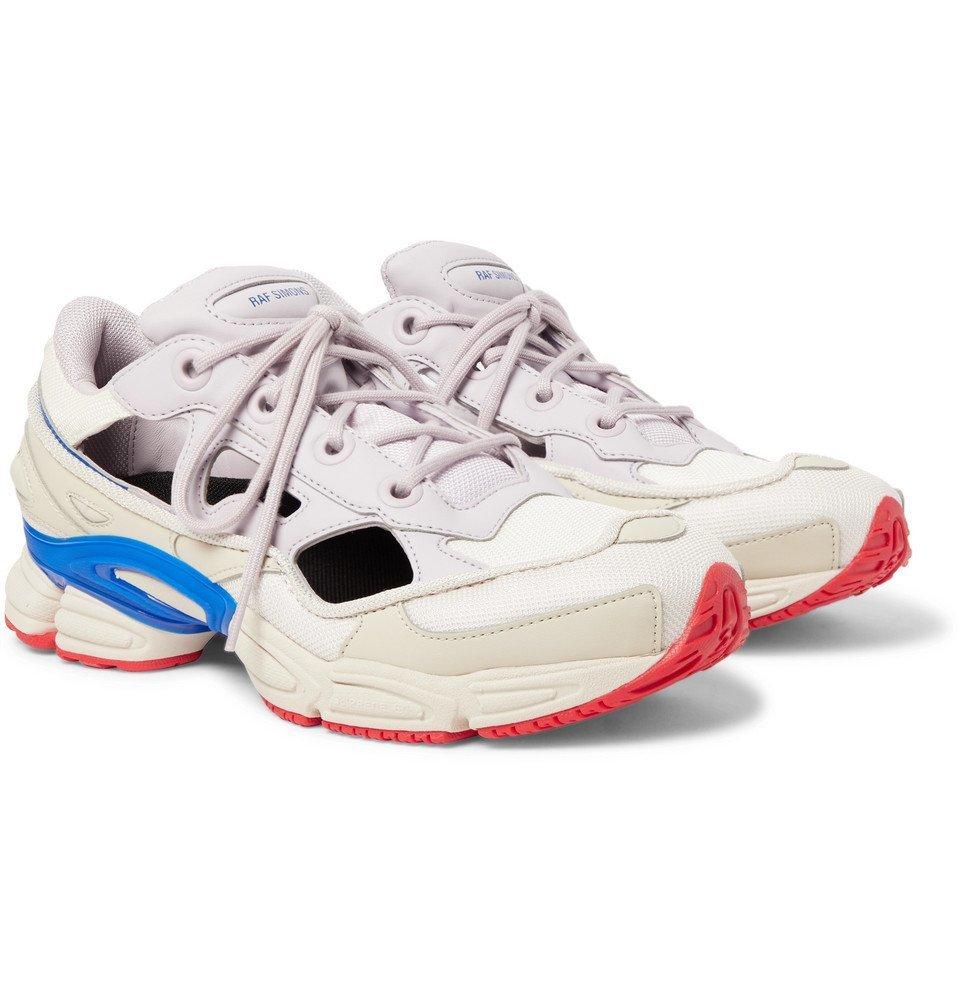 Raf Simons - adidas Originals Replicant Ozweego Sneakers - Men - Light gray