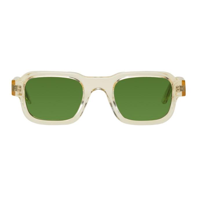 Photo: Enfants Riches Deprimes Yellow Thierry Lasry Edition Transparent The Isolar 995 Sunglasses