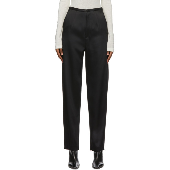 Photo: Toteme Black Evora Trousers
