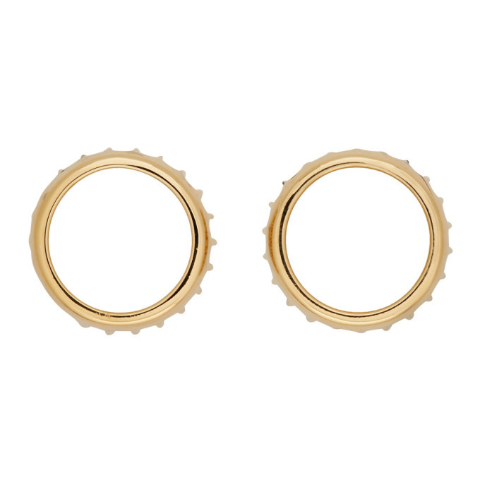 Photo: A.P.C. Gold Alex Earrings