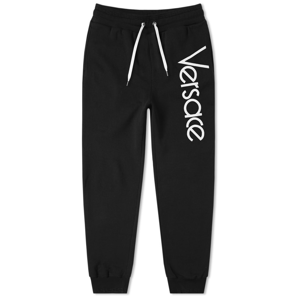 Photo: Versace 80s Logo Embroidered Sweat Pant
