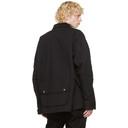 Sacai Black Oxford Blouson Jacket