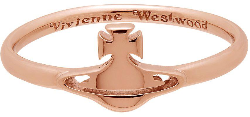 Photo: Vivienne Westwood Rose Gold Carmen Ring