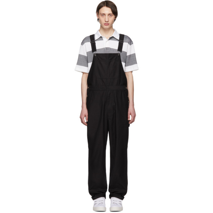 Photo: Saturdays NYC Black Sigrid Overalls