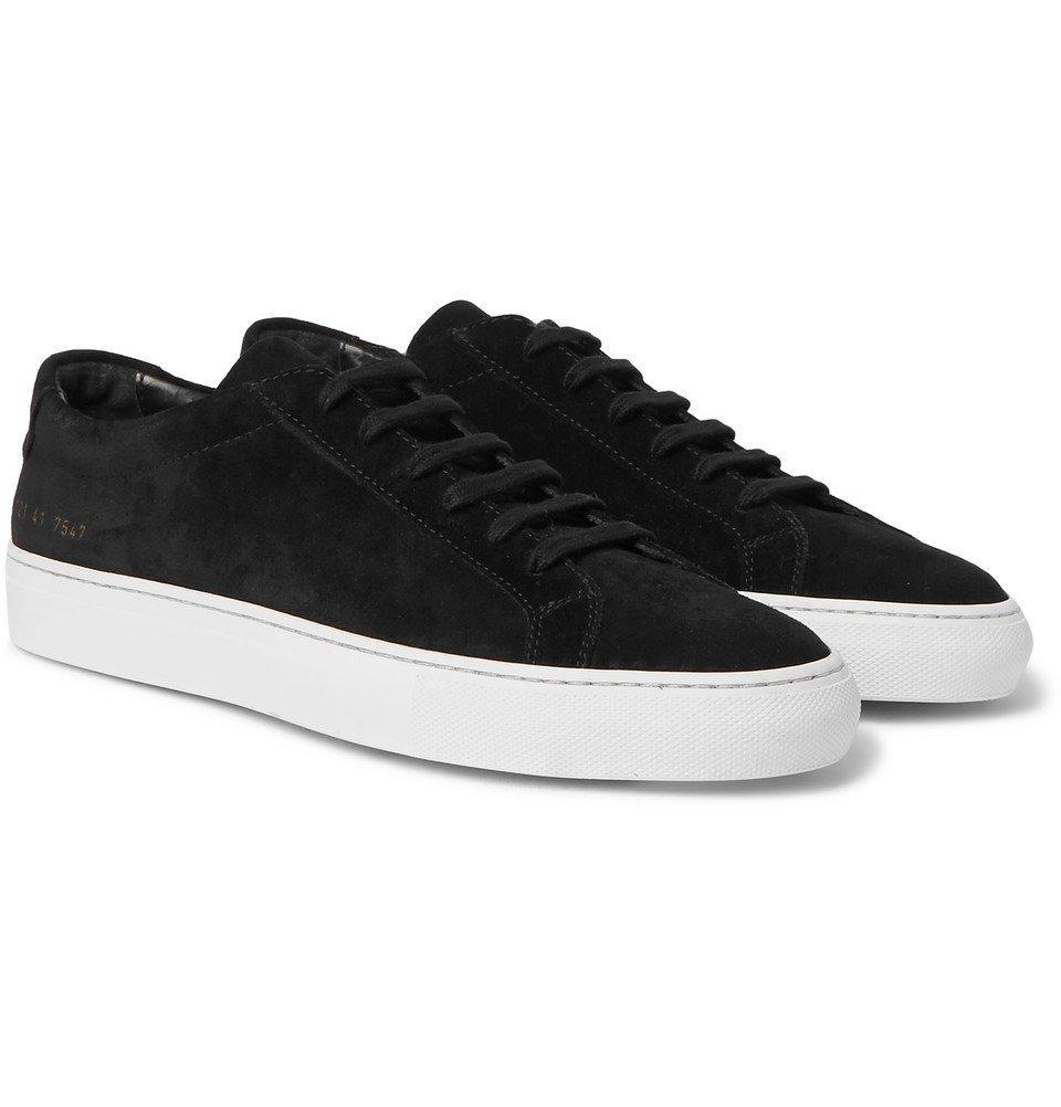 Common Projects - Original Achilles Suede Sneakers - Men - Black