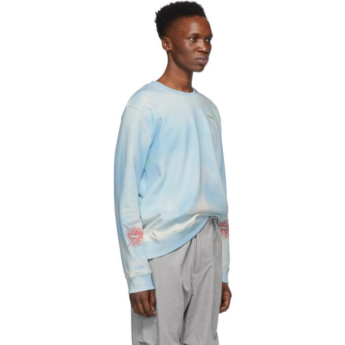 032c Blue Cosmic Workshop Sweatshirt