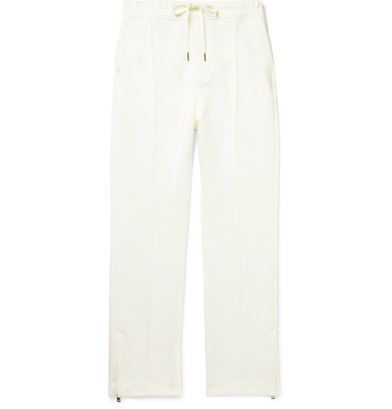 Photo: TOM FORD - Stretch-Jersey Sweatpants - White
