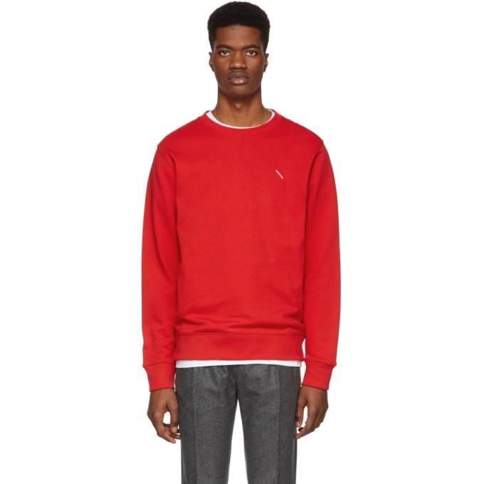 Photo: Saturdays NYC Red Slash Bowery Sweatshirt