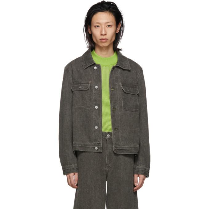 Photo: Our Legacy Grey Denim Mono Jacket