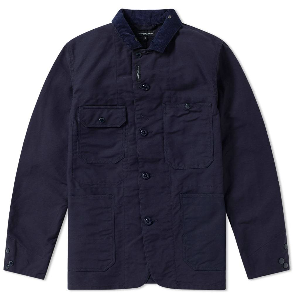 Photo: Engineered Garments Coverall Jacket Blue