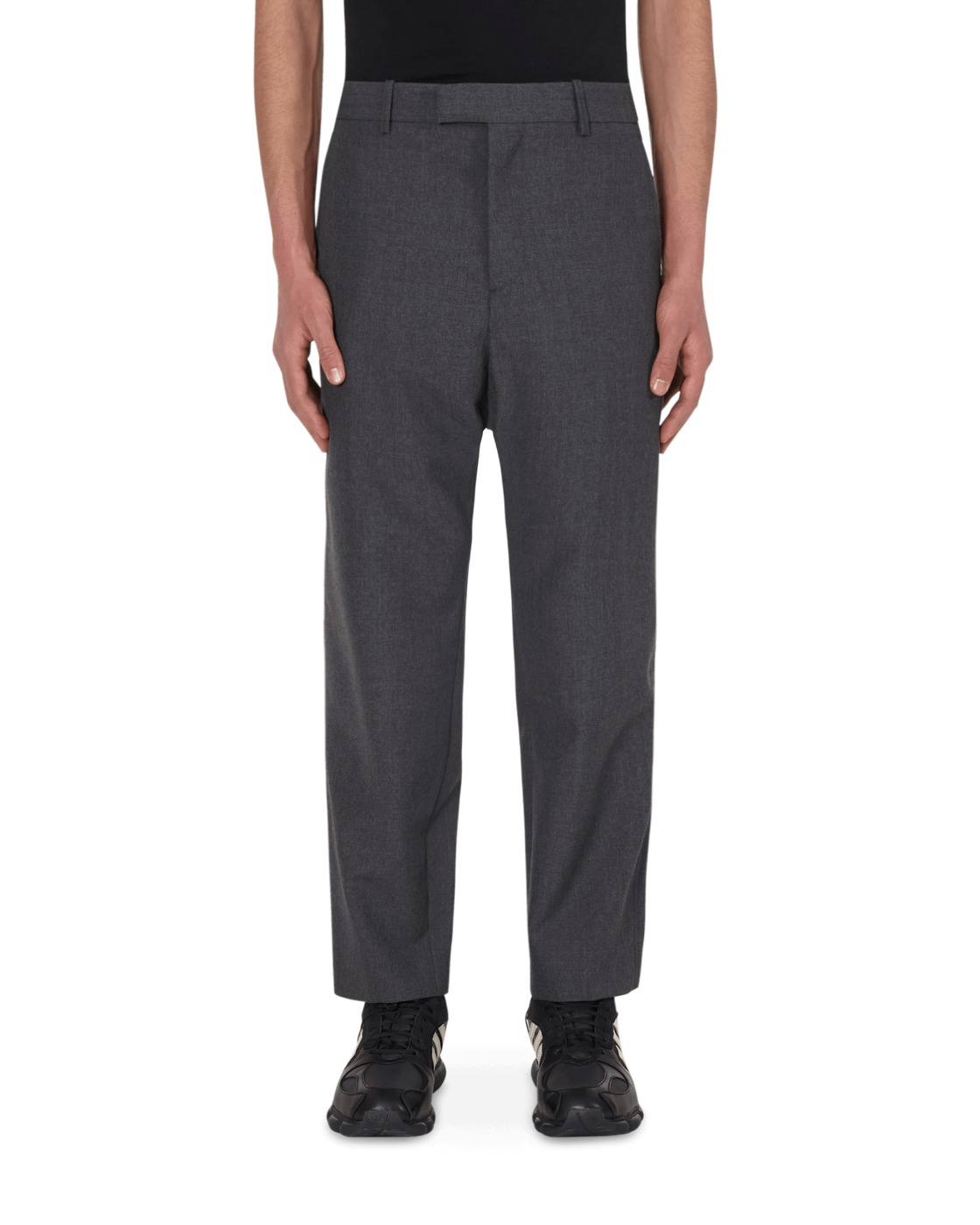 Photo: Oamc Idol Trousers Dark Grey Heath