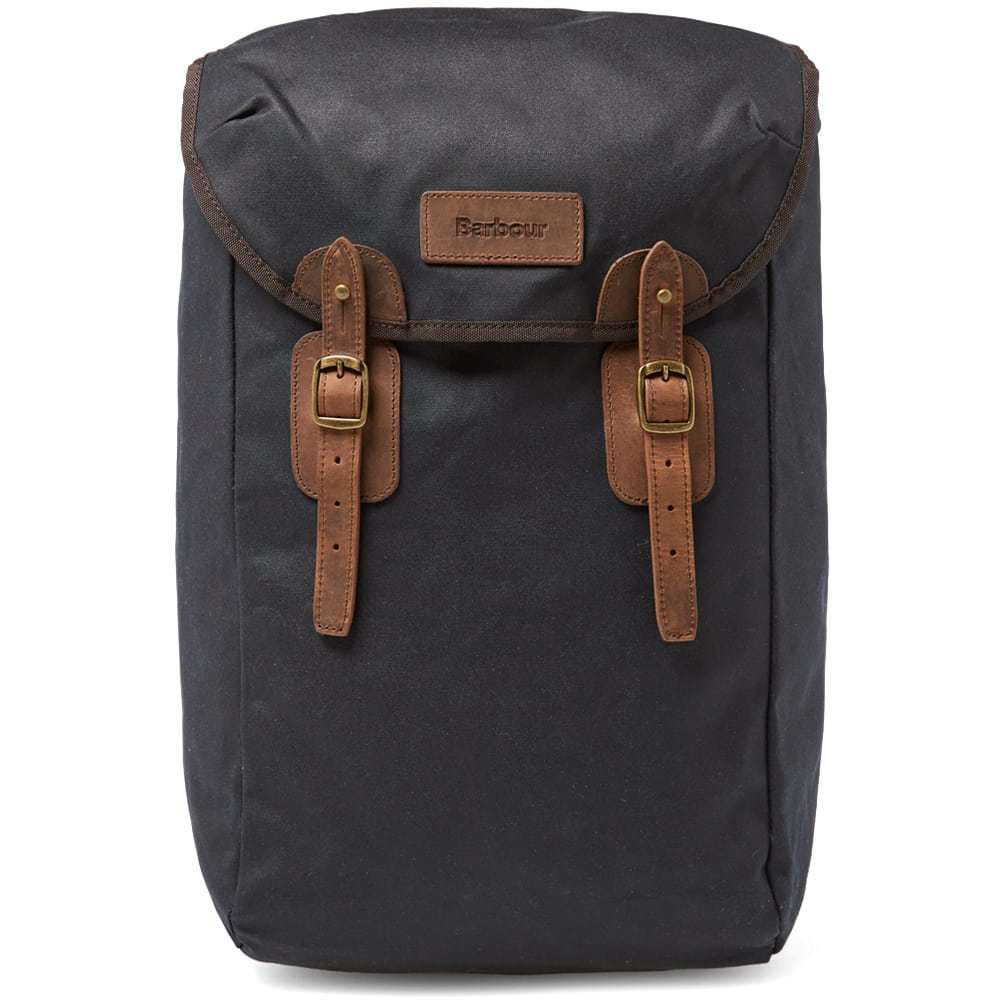 Photo: Barbour Wax Leather Backpack