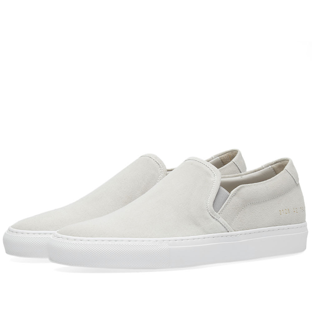 Photo: Common Projects Slip On Suede