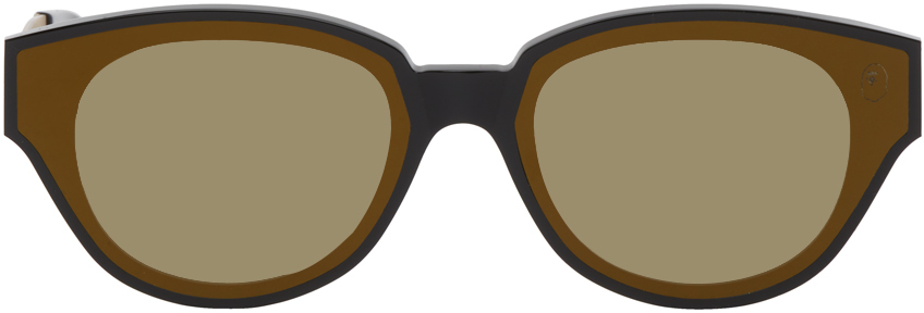 Photo: BAPE Black & Gold BS13098 Sunglasses