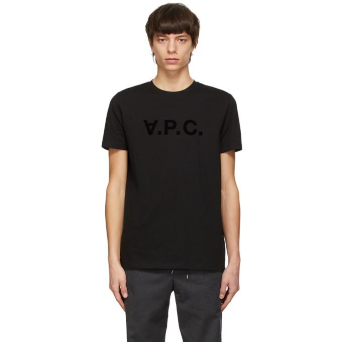 Photo: A.P.C. Black VPC T-Shirt