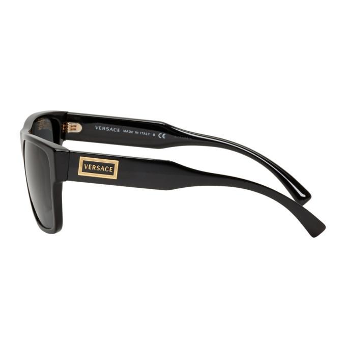 Versace Black Vintage Logo Sunglasses
