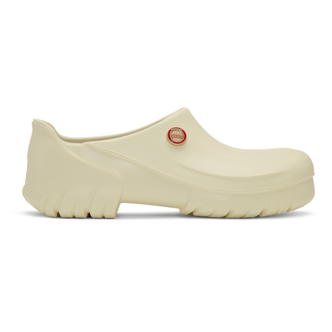 Photo: 032c White Birkenstock Edition Super Birki Clogs