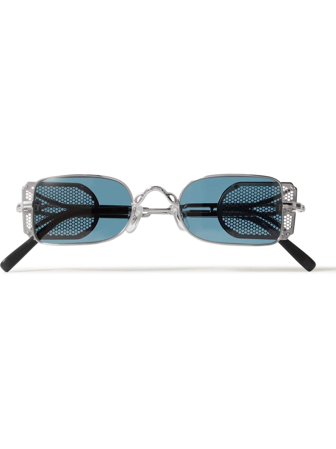Photo: MATSUDA - Rectangle-Frame Titanium Sunglasses