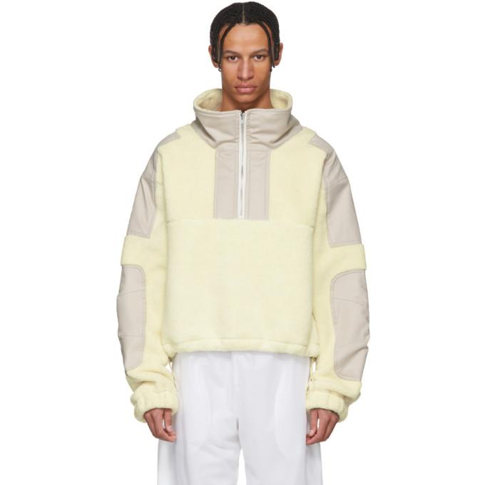 GmbH Beige Fleece Mathis Sweater