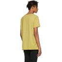 Ksubi Yellow Seeing Lines T-Shirt